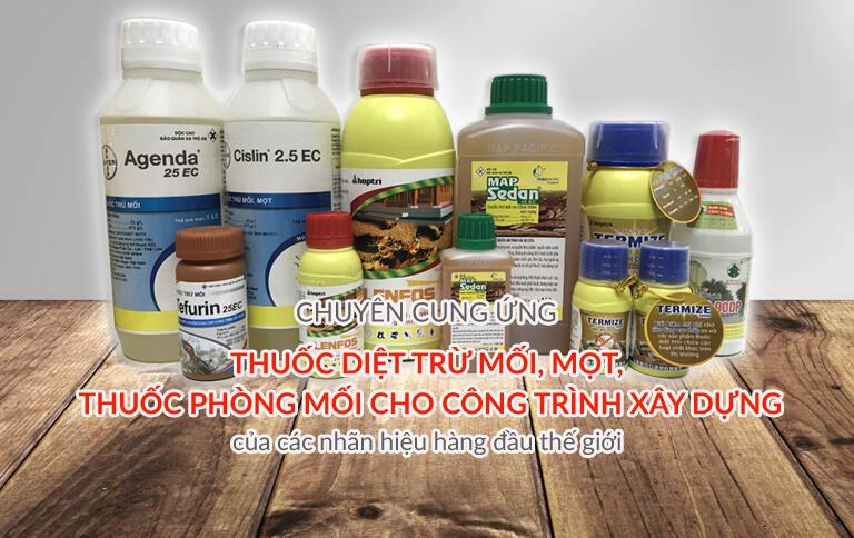 cửa hàng bán thuốc diệt mối tại Bình Dương